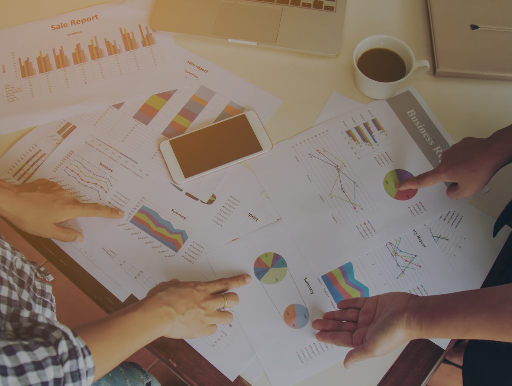 Business work concept Planning, Teamwork for Success organization. Selective focus and soft flare filter.